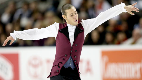 Jason Brown competed in the Men's Short Program during the 2018 Prudential U.S. Figure Skating Championships with a song from <em>Hamilton,</em> the musical.