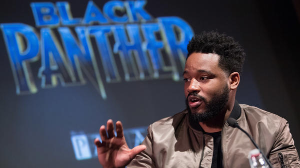 Director Ryan Coogler attends the <em>Black Panther</em> BFI preview screening on February 9, 2018 in London, England.