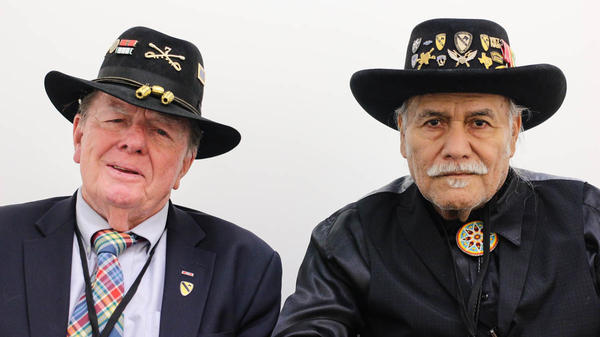 During their 2016 StoryCorps interview in Austin, Texas, Joe Galloway, 76, and Vince Cantu, 76, talk about their memorable reconnection in 1965.