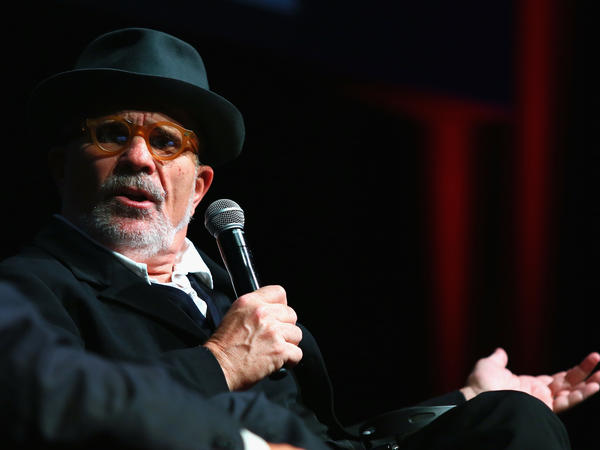 David Mamet speaks at the Rome Film Festival in 2016.
