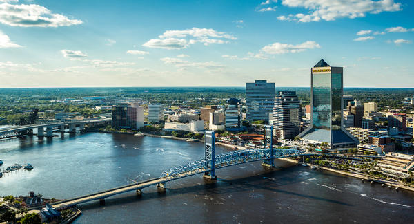 The Jacksonville area's future development is expected to be among the state's most sprawling, according to a study.