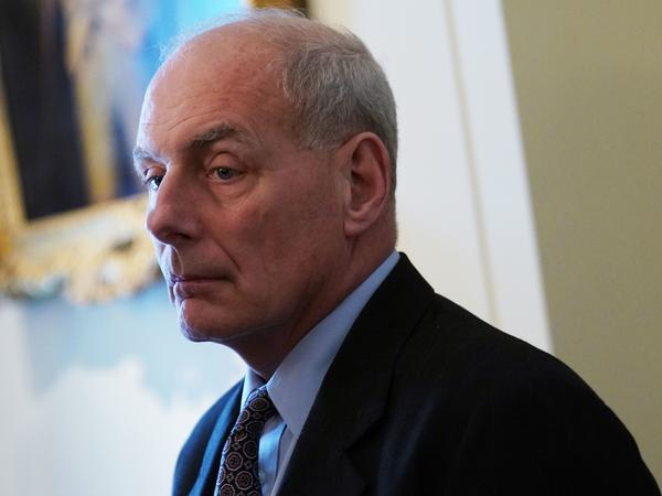 "John Kelly says he ""did something wrong"" to get chief of staff job and have to give up leading the Department of Homeland Security."
