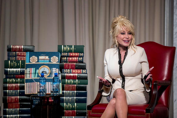 Parton donated a copy of <em>Coat of Many Colors </em>to the permanent collection of the Library of Congress to mark the delivery of the 100th million book by her nonprofit Imagination Library.