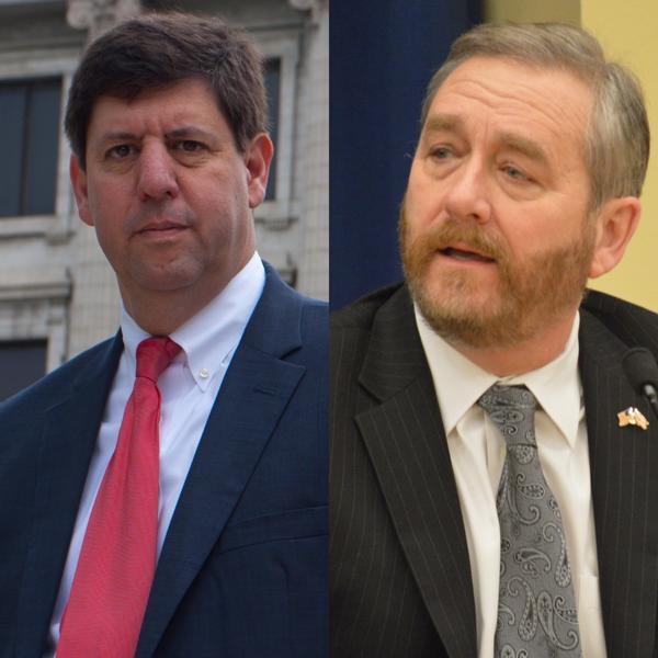Steve Dettelbach, Democratic candidate for Ohio Attorney General/Dave Yost, Republican candidate for Ohio Attorney General
