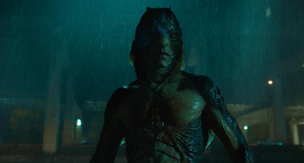 Doug Jones portrays a creature called the Amphibian Man in <em>The Shape of Water</em>, which has been nominated for 13 Academy Awards.