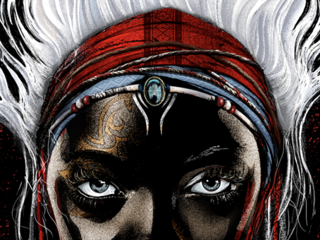 """""""Children of Blood and Bone"""" by Tomi Adeymi."""