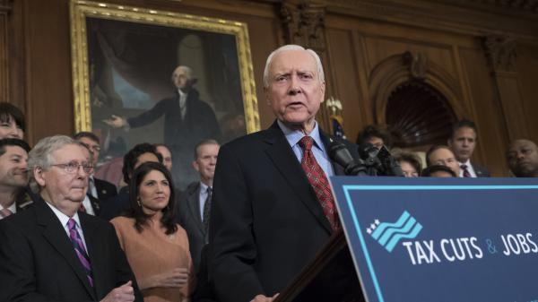As the chair of the Senate Finance Committee, Sen. Orrin Hatch, R-Utah, was integral in crafting tax overhaul legislation that was signed into law in December. The legislation eliminated a key provision of the Affordable Care Act.