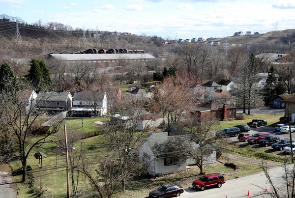 Canonsburg, just south of Pittsburgh, is one of the areas where Democrat Conor Lamb and Republican Rick Saccone are fighting for votes.