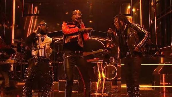 Migos perform songs off <em>Culture II </em>at <em>Saturday Night Live. </em>