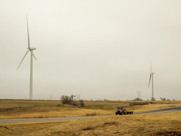 Revenue from wind farms has helped Dewey County, Okla., pay for local schools and a new courthouse.