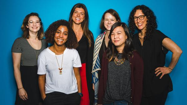 From left to right: Marissa Lorusso, Pilar Fitzgerald, Joanna Pawlowska, Allie Prescott, Nancy Chow, and Jessica Goldstein.