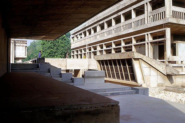 Doshi created Ahmedabad's Institute of Indology building in 1962.