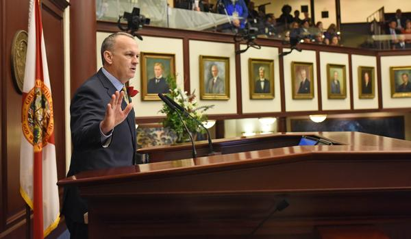 House Speaker Richard Corcoran says the two chambers have reached a budget deal.