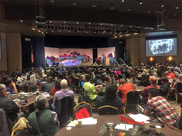 Native speakers from across the Northwest and Canada have gathered in Spokane for the annual Celebrating Salish Conference.