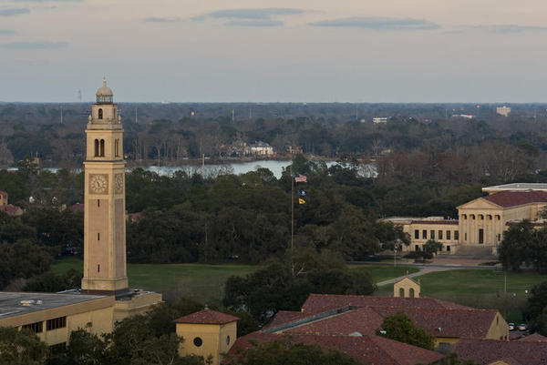 Campus of Louisiana State University