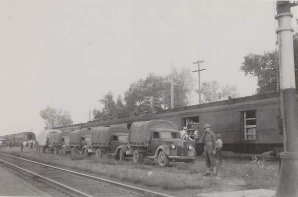 Internees arrived in 1942 by train from California to Colorado.