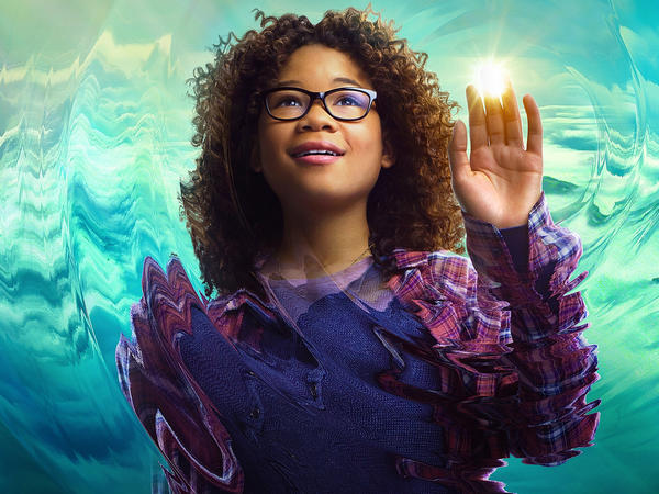 Storm Reid plays Meg Murry in 'A Wrinkle In Time.'