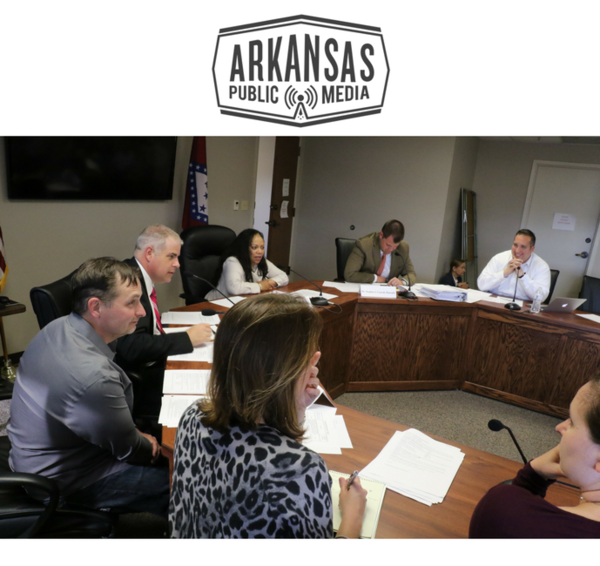 Arkansas's Alcoholic Beverage Control Division chief Mary Robin Casteel (at bottom) will join Arkansas Medical Marijuana Commissioners Dr. Carlos Roman, James Miller, Dr. Ronda Henry-Tillman, Stephen Carroll and Travis Story tomorrow.
