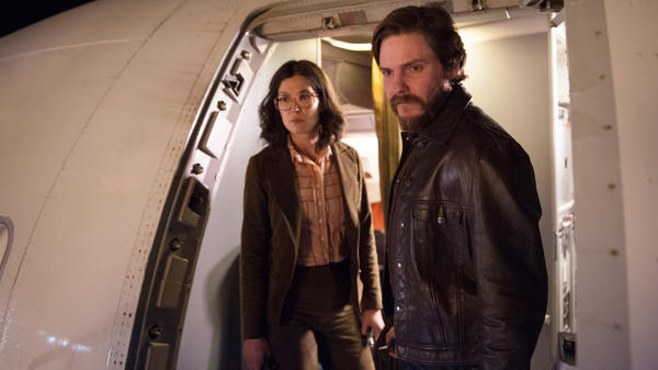 Rosamund Pike and Daniel Brühl star in <em>7 Days in Entebbe, </em>a film about the 1976 hijacking of a flight from Tel Aviv to Paris.