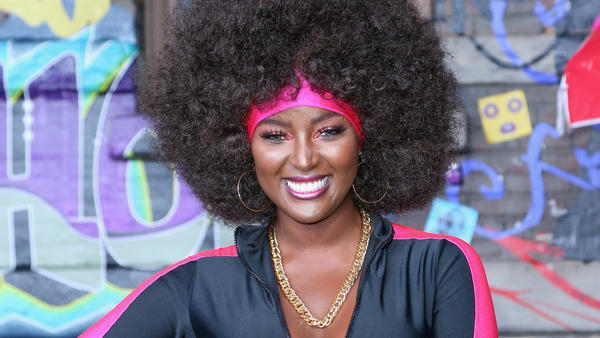 Amara La Negra at the VH1 Hip Hop Honors: The 90s Game Changers on September 17, 2017 in Los Angeles, Calif.
