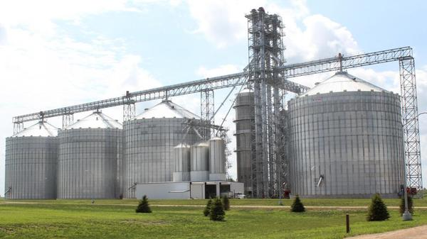 Tariffs on steel and aluminum would increase the cost of farm machinery and structures like steel grain bins.