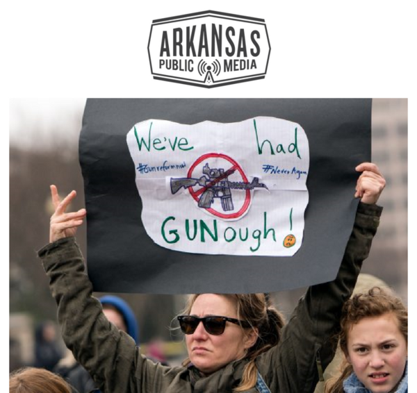 "Arkansas School Boards Association lawyer Kristen Garner says she expects student walkouts March 14 will be orderly. ""I'm concerned about counter demonstrations ... if people in the community take angry or perhaps even violent exception."""