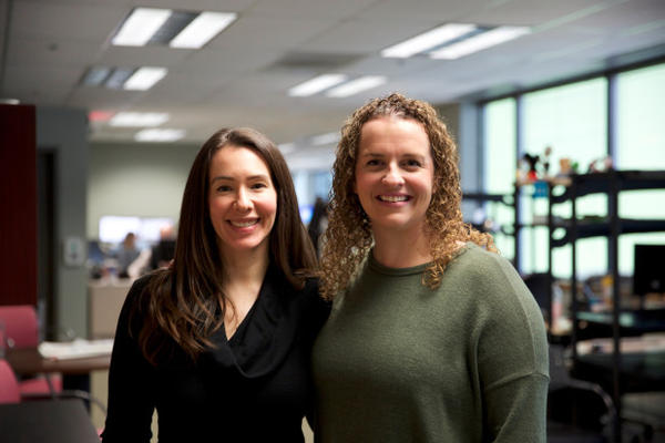 <p>Rosanne Scott and Kelly Paluso are child welfare caseworkers at the the Oregon Department of Human Services.</p>