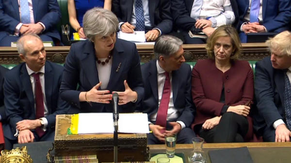 """Britain's Prime Minister Theresa May says """"this relationship cannot be the same"""" with Russia, after the use of a lethal nerve agent on a former Russian spy who had become a British citizen. May announced sanctions on Russia during her scheduled question time in the House of Commons Wednesday."""
