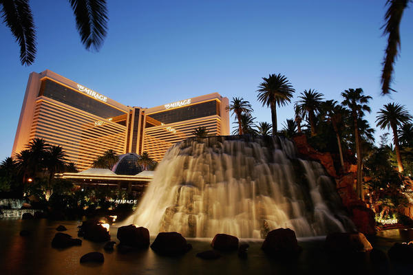 When the Mirage Hotel & Casino opened, it was unprecedented not only in its size and upscale show offerings, but also in the design of the building itself.