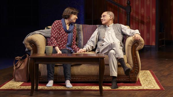 "Angel Desai and Ranjit Chowdhry in Hammaad Chaudry's ""An Ordinary Muslim"""