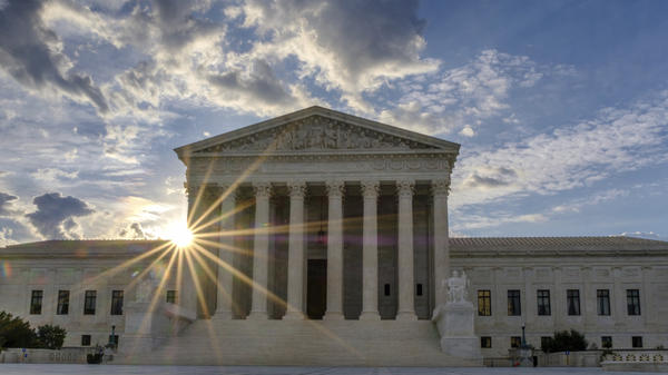 """Everything that we're doing is really pointing to the future of the Supreme Court,"" said the vice president of strategy at Americans for Prosperity. The U.S. Supreme Court building is shown in Washington, D.C., on June 25, 2017."