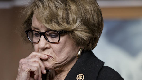 Rep. Louise Slaughter, D-N.Y., the first chairwoman of the House Rules Committee, died Friday.