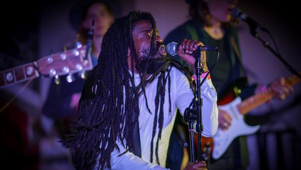 Rev. Sekou performs at The Driskill in Austin, Texas during SXSW 2018