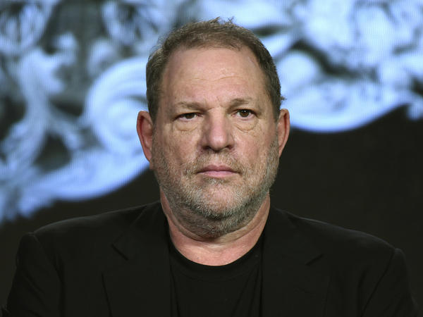 Hollywood mogul Harvey Weinstein whose production company announced it has filed for bankruptcy protection.