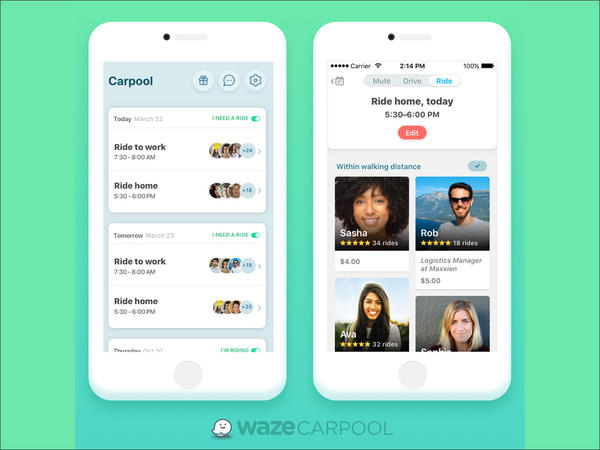 Google subsidiary Waze has launched a carpool app statewide in Washington.