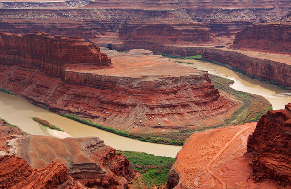 Prior to 1921 this section of the Colorado River at Dead Horse Point near Moab, Utah was known as the Grand River.