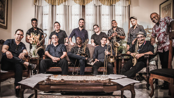 Orquesta Akokán's self-titled debut is a loving tribute to the sax and brass-driven orchestras of the past that operated like one giant rhythm machine.