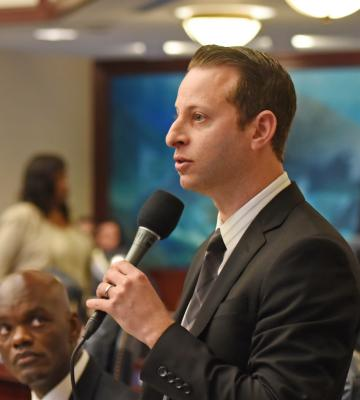 Rep. Jared Evan Moskowitz, D-Coral Springs, said he'll debate Florida Republican gubernatorial candidates on the issue of guns.