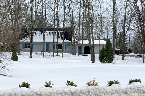 The Bermudez family home in West Brookfield. (Shannon Dooling/WBUR)