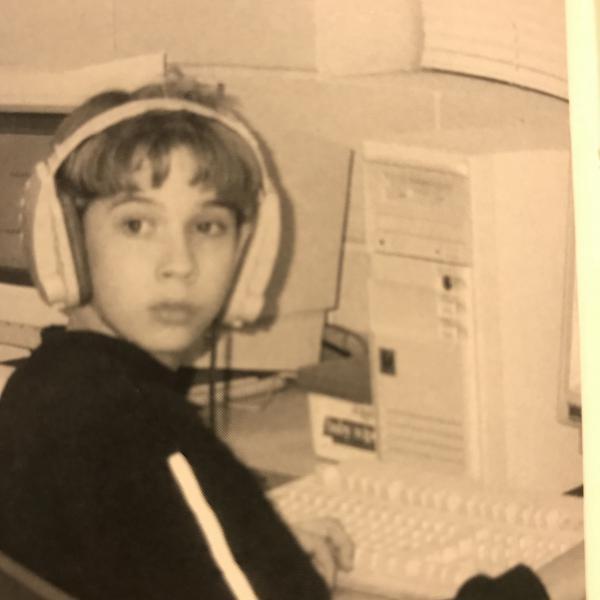 Cody Barnhill around age 11.