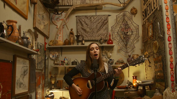 Soccer Mommy performs a South X Lullaby.