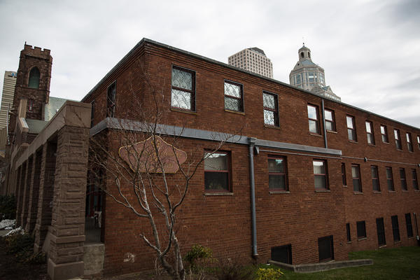At least three families will be transitioning from the Red Roof Inn downtown Hartford to the Franciscan Center for Urban Ministry. There, they'll have a place to stay for free while they look for a place of their own.