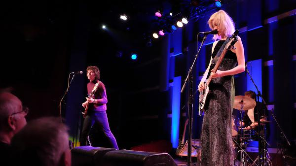 Sunflower Bean performs live at WXPN's Free At Noon Concert in Philadelphia.