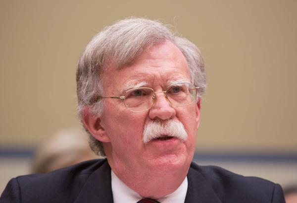Former U.S. Ambassador to United Nations John Bolton speaks on Capitol Hill on Nov. 8, 2017 in Washington, D.C. (Tasos Katopodis/Getty Images)
