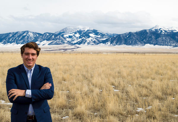 18-year-old Joey Chester, a College Republican at Montana State University, is slated to speak at the rally on Saturday.