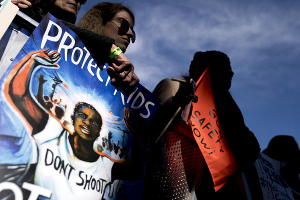 Many students and parents traveled to Washington from Parkland, Fla. It was the shooting there at Marjory Stoneman Douglas High School that sparked the recent gun control activism.