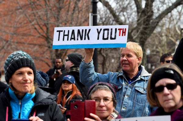 Organizers of Boston's march say that although Massachusetts has some of the strictest gun laws in the country, it's not enough.