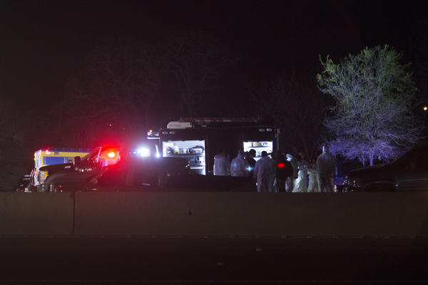 Law enforcement cornered the suspected serial bomber on March 21 at around 3:30 a.m.