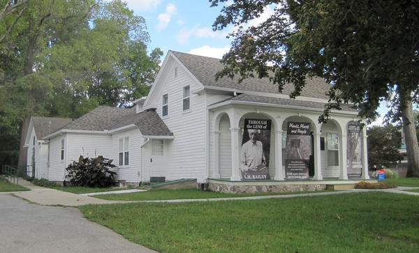 The Liberty Hyde Bailey Birthplace in South Haven, now a museum.