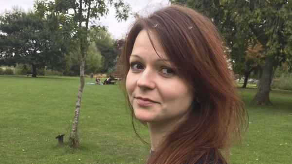 "Yulia Skripal, seen in an image taken from her Facebook account earlier this month. The 33-year-old daughter of former Russian spy Sergei Skripal is ""improving rapidly,"" according to hospital officials."